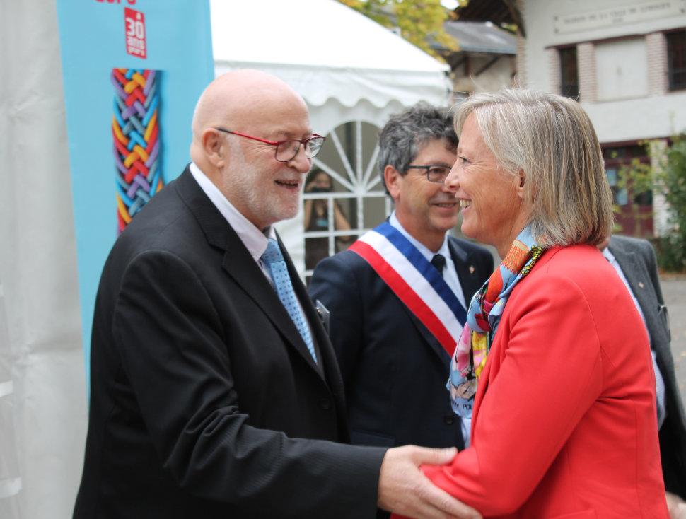 Alain dréano et sophie cluzel